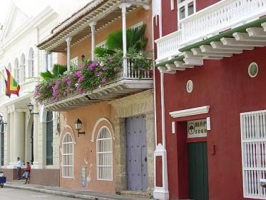 colombia cartagena houses