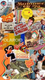 collage aesthetic iphone trendy 70s wallpapers backgrounds quotes