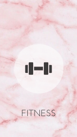 instagram highlight highlights icons fitness covers story icon pink template tips