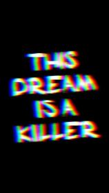 dark aesthetic glitch trippy sad iphone screen wallpapers quotes kill backgrounds phone pinhouse site