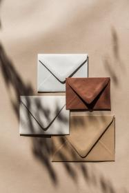 aesthetic brown envelopes cream beige colors stationery invitations palettes collage fall yaprak rust letter golden minimal writtenwordcalligraphy weddings invitation 1000kitap