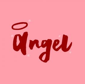 vsco aesthetic bratz angel word stars typography quote wallpapers quotes pink 80s bff