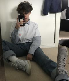 aesthetic eboy boy grunge clothes outfits boys 90s guy pretty light soft mens micah uploaded cool user visit around