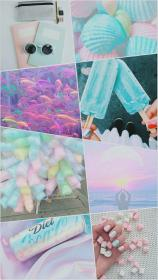 aesthetic iphone pastel collage wallpapers fondos kawaii backgrounds colors girly parede pasteles favorito mi papel chambre hay pretty phone gestalten