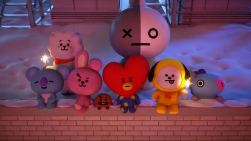 A Compilation of BT21 Animations Because Why Not Dibujos