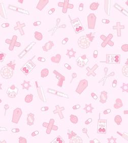 goth kawaii pink background aesthetic pastel backgrounds cute nurse wallpapers phone aesthetics line iphone read