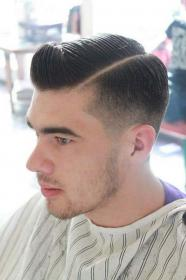 haircuts hair hairstyles taper trendy fade haircut mens classic trending hombre lado cabello peinados tapered shaved pelo cortes para hombres