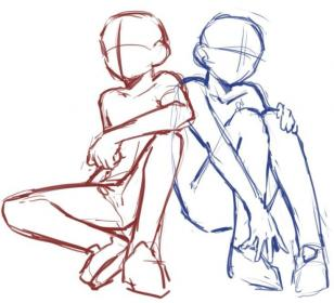 poses drawing reference drawings body anime su sketches club