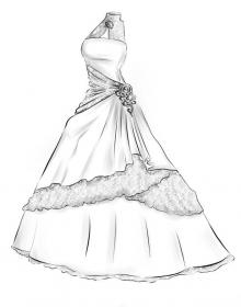 drawing sketches drawings clothes gown dresses designs character google