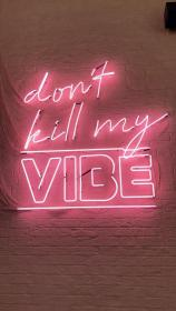 aesthetic pink wallpapers neon pastel quotes collage soft signs sassy vibe bedroom dark iphone grunge