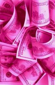 pink, money, and wallpaper image Pastel pink aesthetic