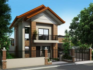 story plans philippines storey floor double lot modern houses cottage traditional down designs homes alberto lots exterior plan narrow second