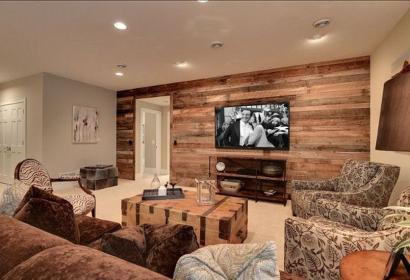 rustic accent walls plank decoratrend pallet planks