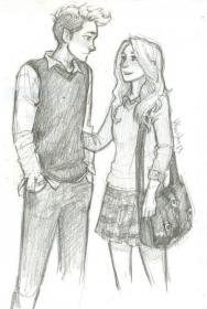 drawings couple sketches drawing friends couples sketch uploaded user poster