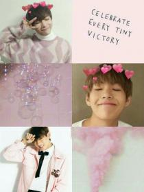 bts aesthetic pink aesthetics wallpapers kpop collage pastel backgrounds grunge cute collages vs visit lockscreen clothes