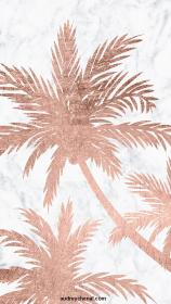 iphone rose marble girly tree backgrounds aesthetic simple rosegold palm wallpapers modern tropical trees story phone pantalla pink fondo laptop