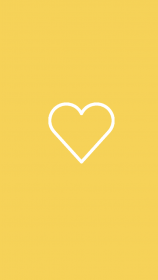 yellow heart highlight icons iphone covers highlights aesthetic stories insta hearts wallpapers template fondos icon sunflower backgrounds kuning oleh orange