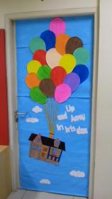 Classroom decoration for out 1st term Got this idea from