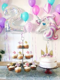 birthday unicorn party parties baby decorations themes bday happy gifts unicorns