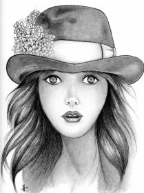 pencil drawing sketches drawings portrait faces female sketch coloring beginners imgkid kid