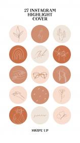 instagram icons etsy highlight aesthetic stories social covers highlights story icon stickers insta frame line template simple app sold instagram5