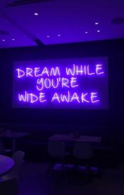 aesthetic quotes neon purple unique letter letters light quote lights yesmissy ru