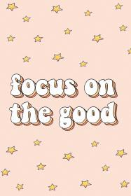 vsco aesthetic quotes words pink stars focus collage retro positivity wallpapers star positive moving cool iphone
