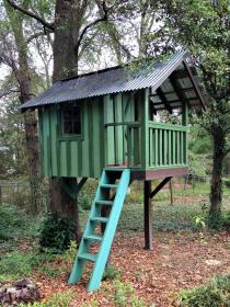 tree plans simple treehouse houses material backyard trees cubby cozy adult