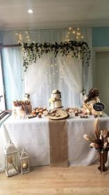 engagement decorations table