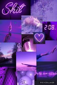 purple aesthetic collage aesthetics iphone pastel neon background backgrounds most desktop aesthetically violet colors
