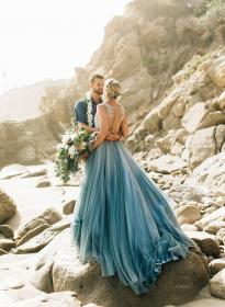 aqua malibu waterfront dresses inspired beach inspiredbythis colored bride teal colors robe today gowns mariage pour weddingomania du