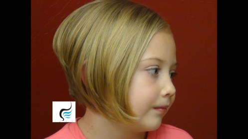 How to Style a Stacked Bob Cut A Line Haircut On Little