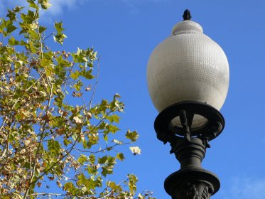 barcelona lamp freeimages