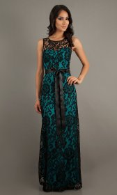 lace teal sleeveless prom bridesmaid sf length promgirl floor unfortunately pretty