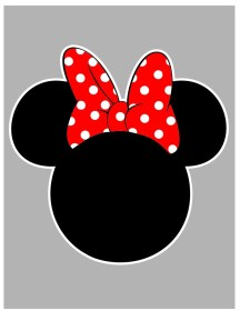 minnie mouse mickey svg outline file something request order custom