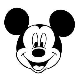 mickey mouse disney svg silhouette file cutting walt eps instant description