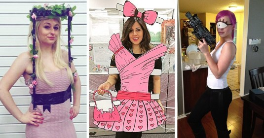 Disfraces creativos para chicas este Halloween