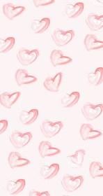february iphone wallpapers heart backgrounds pattern pink tech hearts background patterns desktop aesthetic cute inspired idea pretty wall para fondos