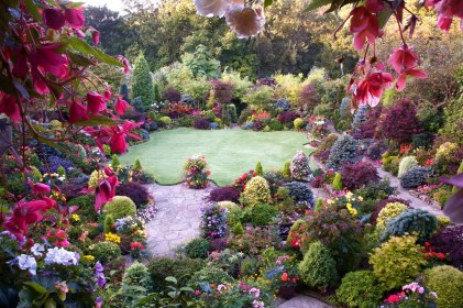 A hint of autumn in the late summer garden English