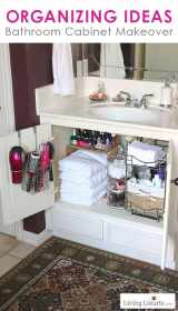 Bathroom Organization Ideas (Before and After Photos