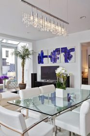 dining modern contemporary table furniture elegant glass chandelier tables fascinate incredible crystal feel thanks living rooms amazing sets decor designs