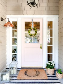 porch decorating entryway simple glam doors porches sharing