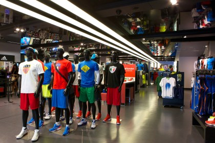 Adidas Sport Performance Store Shopping in East Village