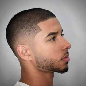 buzz cut short beard fade styles hair low barber cool sound often military haircut shaved hairstyles haircuts menshairstyletrends hairstyle head