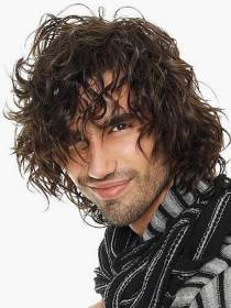 curly hairstyles mens hairstyle messy haircuts hair wavy styles curls male longer cut frizzy longhair very models loose short thick