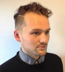 curly short hairstyles hair mens hairstyle sides type haircuts source side undercut parted