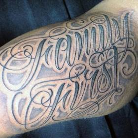 tattoo tattoos arm mens forearm designs lettering guys realistic 3d meaningful menshairstylesnow nextluxury painted commemorative ink arms tatoos tattooimages biz
