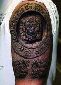 tattoos 3d tattoo arm mens ink illusion ancient dimensional three believe designs tatoo cool realistic artist most scary nice guy