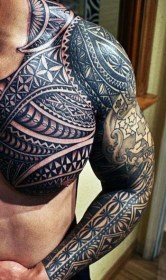 shoulder tattoos tattoo mens designs cool tribal arm sleeve done chest ink arms guys meaning tatuaje popular piece idea really