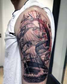 arm tattoos upper cross tattoo lower simple tribal boys designs inspiration mens guide awesome another concept
